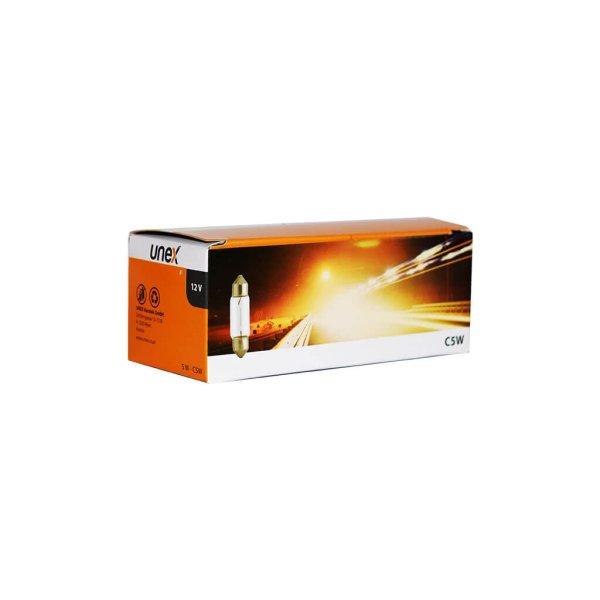 UNEX C5W/5W 10 er Pack