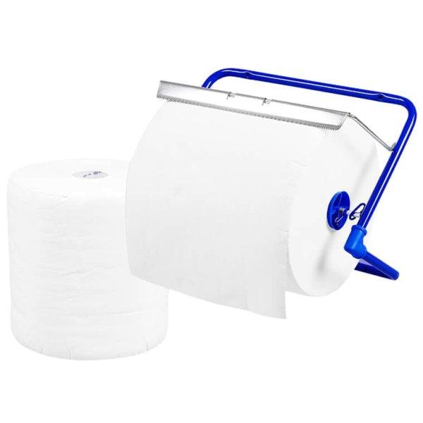 Wandrollenhalter für Putztuchrollen bis 40 cm