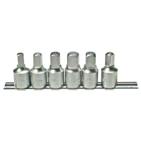 """Öldienst Schlüsselsatz Öl Werkzeug Stecknuss 1/2"""" innen - 3/8"""" außen Nuss 8-14mm"""
