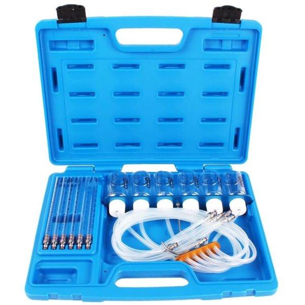 Common Rail Motoren Werkzeug Diesel Tester Injektor Rücklaufmenge Einspritzdüsen