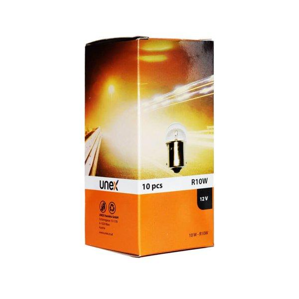 UNEX R10W 12V 10 er Pack