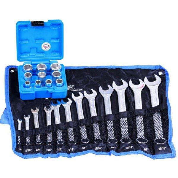 Zoll Werkzeug Schraubenschlüssel Set 22-tlg.