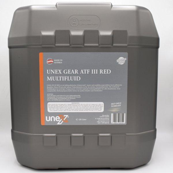 GEAR ATF III Multifluid RED